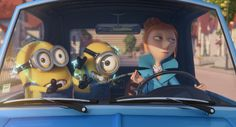 *MINIONS & LUCY ~ Despicable Me II, 2013