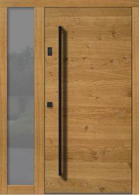 Haustür Modern H101 Wooden Front Doors, Wood Doors, Contemporary Front Doors, Entrance Doors, Carven, Door Design, Tall Cabinet Storage, Windows, Facades