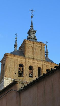 Iglesia de Santa Maria, Tordesillas, Valladolid, Spain  / On the way from Salamanca to Valladolid