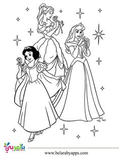 رسومات اميرات ديزني للتلوين صور تلوين بنات للطباعة بالعربي نتعلم Elsa Coloring Pages Disney Coloring Sheets Elsa Coloring