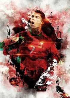 'Digital Art Cristiano Ronaldo' Poster by nikenangela Cristiano Ronaldo Portugal, Cristiano Ronaldo Junior, Cristiano Ronaldo Wallpapers, Ronaldo Real Madrid, Old Trafford, Benfica Wallpaper, Messi Vs Ronaldo, Ronaldo Juventus, Portugal National Team