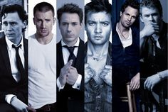 The gorgeous men of the Avengers