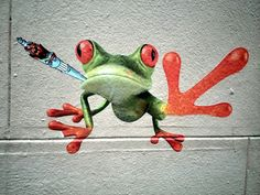 street art - rue foyatier - paris 18
