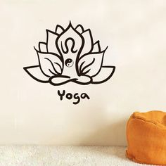 Wall Decals Yoga Lotus Indian Yin Yang Buddha Decal Vinyl Sticker Home Decor Bedroom Interior Design Art Mural Dear Buyers, Welcome to our shop