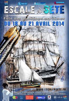 Escale à Sète. Du 18 au 21 avril 2014 à sete.