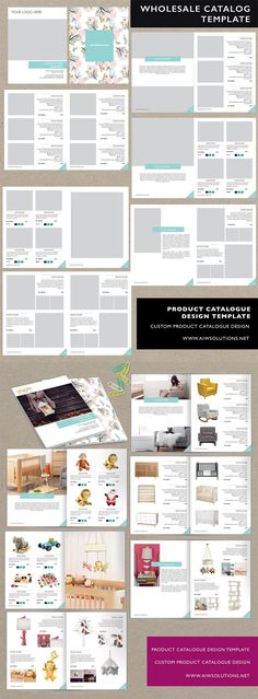 Design Presentation Layout Product Ideas For 2019 Catalogue Design Templates, Product Catalog Template, Catalogue Layout, Fashion Design Template, Catalog Design, Product Catalogue, Layout Design, Web Design, Design Trends