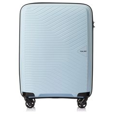 d01182a50b9 Tripp Ice Blue Chic Cabin 4 Wheel Suitcase 4 Wheel Carry On Suitcase  Colour  ICE
