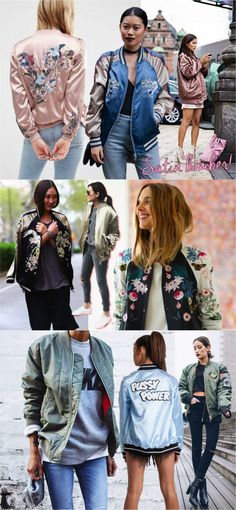 Jaqueta bomber e muitas outras tendências para o inverno:    http://guiame.com.br/vida-estilo/moda-e-beleza/4-modelos-de-casaco-que-irao-dar-um-no-seu-inverno.html
