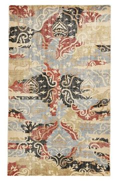 I don't know why but I like this haha  Rizzy+Home+Hand+Knotted+Wool+Area+Rug+available+at+#Nordstrom