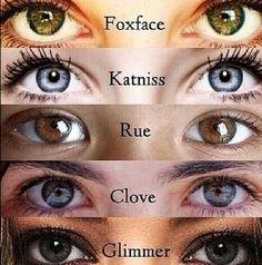 Want Katniss eyes!