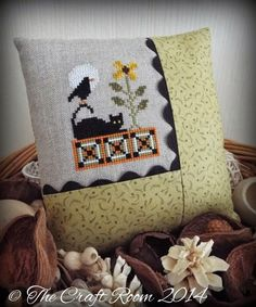 Lookin' Like Fall Cross Stitch Chart by Plum Pudding Needleart