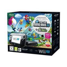 Console Nintendo Wii U New Super Mario #Gaming #Wii