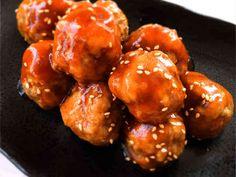 揚げなくても美味しい♪甘酢あんの肉団子の画像