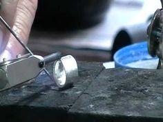 Soham Harrison, step bezel for faceted stone - Creare un castone per una pietra sfaccettata