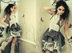 Flutterbydaisy Gallery - Handmade Dresses for broken dolls and ballerina butterflies