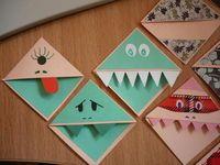 Cute little bookmark idea!