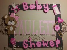 33 Ideas baby shower ideas for girs decorations diy decor babyshower Baby Shower Deco, Baby Shower Vintage, Baby Shower Themes, Baby Boy Shower, Shower Ideas, Baby Shower Clipart, Baby Shower Invitations, Marcos Para Baby Shower, Baby Shower Photo Frame