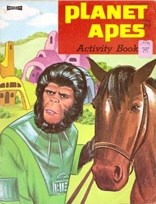 John Kenneth Muir's Reflections on Cult Movies and Classic TV: Pop Art: Coloring Books (Planet of the Apes Edition)