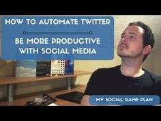 How To Automate Twitter and Save Time Managing Social Media - YouTube Social Games, Locker, Social Media, How To Plan, Twitter, Youtube, Room, Bedroom, Rooms