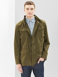 Ripstop fatigue jacket