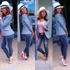 Thando Nondlwana (@thando_nondlwana) • Instagram photos and videos Cut Above The Rest, Blazer, Photo And Video, Grey, Hats, Videos, Fabric, Instagram, Fashion
