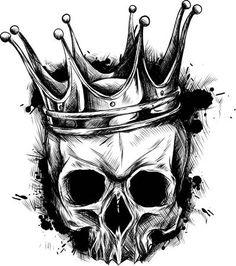 Vintage Horror Skull Movie Posters - Vintage horror skull , vintage horrorschädel , crâne d'horreur vintag - Evil Skull Tattoo, Skull Rose Tattoos, Skull Sleeve Tattoos, Body Art Tattoos, Indian Skull Tattoos, Crown Tattoo Design, Tattoo Design Drawings, Skull Tattoo Design, Cool Skull Drawings
