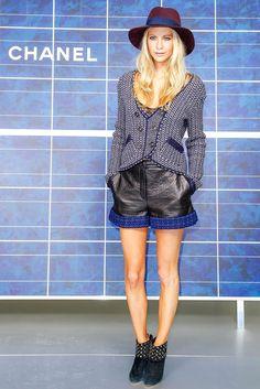 Poppy Delevingne outside of Chanel. Love Fashion 48f5807c2e1