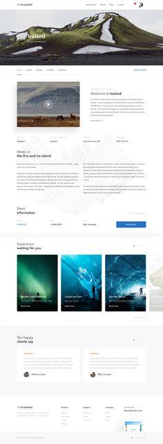 travel_about_subpage.jpg by Adrian Rudzik Web Design, Layout Design, Concept, Travel, Voyage, Design Web, Viajes, Traveling, Page Layout