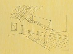 Roberto Bassan, schizzo per scala