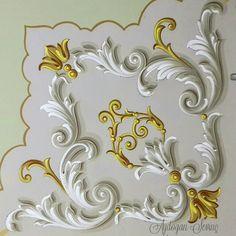 Barok köşe motifi..