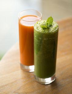 fresh fruit & vegetable juices