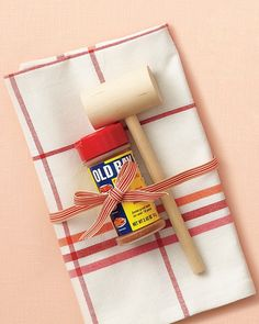 Guests can summon Maryland with a sprinkle of Old Bay seasoning -- it's great in Bloody Marys and on potatoes, too -- a wooden mallet (themarylandstore.com), and a kitchen towel (surlatable.com).