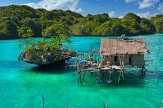 A little slice of heaven! indonesia; napabale; sulawesi; phishing house;
