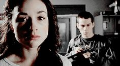 Allison is 100% done with stiles XD