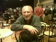 Michel Beretti, avant sa conférence sur Les temps modernes, musiques au tournant du XXe siècle.