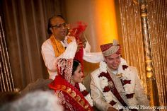 indian wedding ceremony bride groom http://maharaniweddings.com/gallery/photo/10431