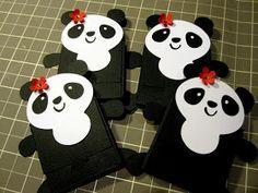 Creations by Patti: Panda Chocolate Favor