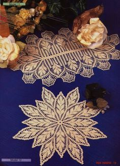 Crochet doilies from web - Barbara H