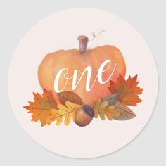 Get your hands on great customizable Pink Pumpkin stickers from Zazzle. 1st Birthday Favors, Pink Birthday, Baby In Pumpkin, Cute Pumpkin, Pink Pumpkins, Fall Pumpkins, Round Stickers, Cute Stickers, Chevron Pumpkin