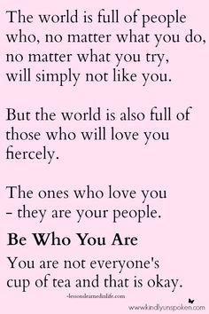 You Are Not Everyone's Cup of Tea And Why It's Okay #motivationalquote #quotes #encouragement #selfimprovement