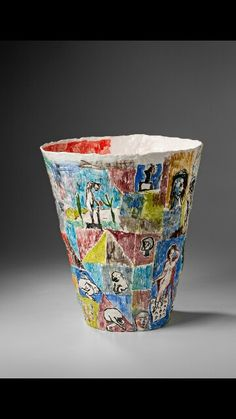 Stephen Benwell ceramic art.