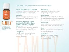 A very special oil to support your well-being in a family dynamic. YL#1146129.