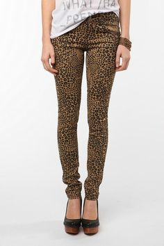cheetah print pants = awesome