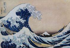 La Grande Vague, HokusaI, env. 1835