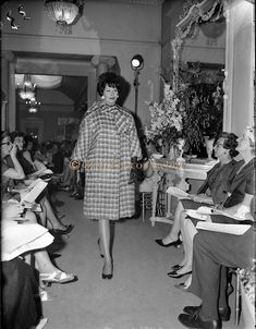 06 July 1961 Fashion Show: Irene Gilbert Autumn/Winter Collection. Irish Fashion, Fashion Show, Fashion Outfits, Photo Archive, Winter Collection, Fall Winter, Clothing, Image, Outfits