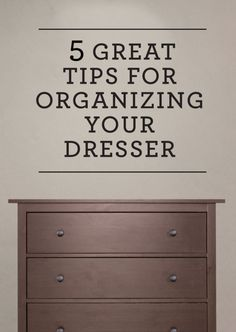 5 Great Tips for Organizing Your Dresser | eBay