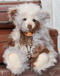 Kaycee Bears 'rebecca' Bunny Rabbit Limited Edition Jointed Teddy Brand New