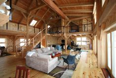 Pole barn house interior metal barn plans with living quarters farm shop pole home and prices Pole Barn House Plans, Pole Barn Homes, House Floor Plans, Pole Barns, Barn Plans, Home Design, Design Ideas, Barn Homes For Sale, Porches