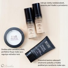 S týmito produktmi bude Váš make-up vyzerať dokonale po celý deň.