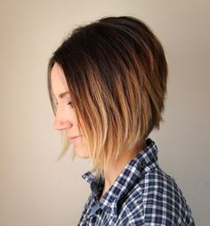 ONE little MOMMA: Short Hair Ombre Tutorial - How To Do Ombre at Home